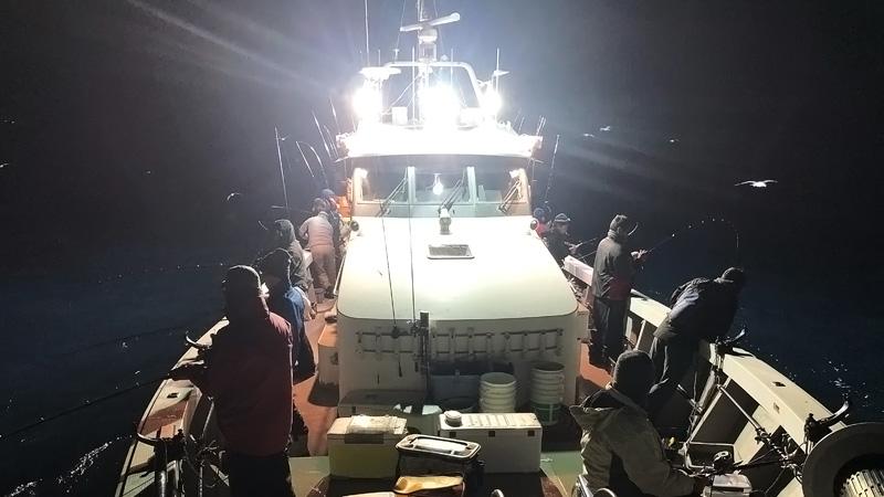 夜釣りにナイトグラス