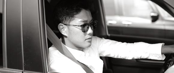 明るめの高性能偏光レンズはドライブにも最適